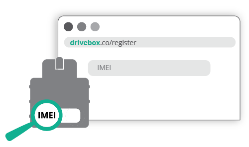Create the account on drivebox.co
